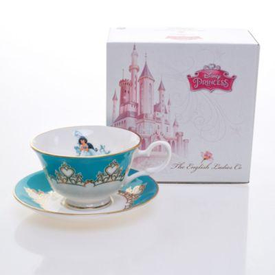 English Ladies Co. Bone China Princess Jasmine Teacup and Saucer