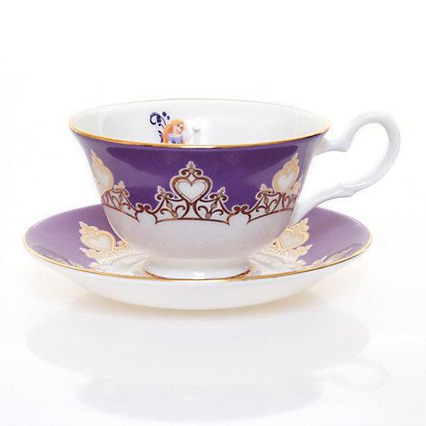English Ladies Co. Bone China Rapunzel Teacup and Saucer