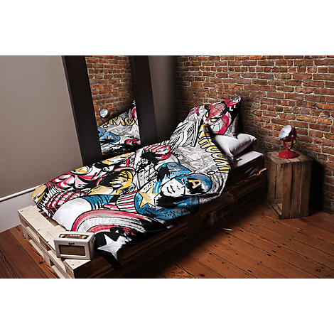 Marvel Avengers Single Duvet Cover Set