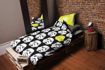Stormtrooper Single Duvet Cover Set, Star Wars: The Force Awakens