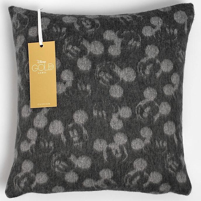 Mickey Mouse Dark Grey Lambswool Cushion
