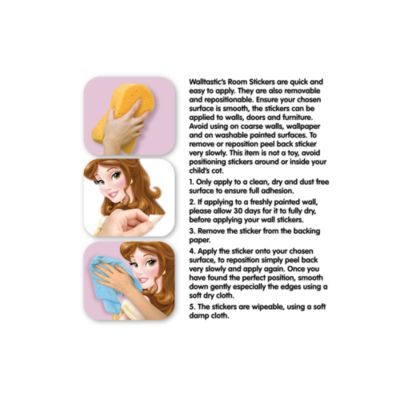 Disney Princess 81 Piece Room Decor Kit