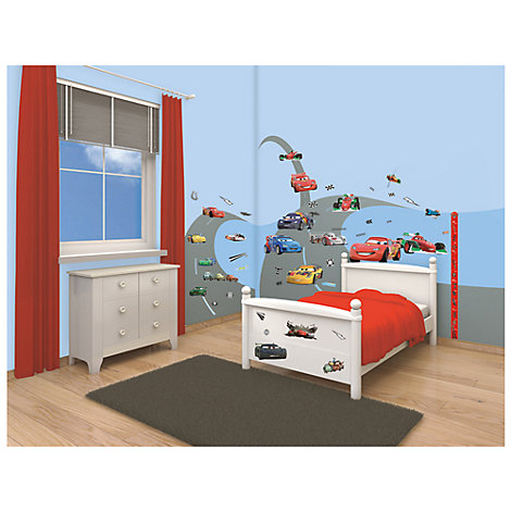 Disney Pixar Cars 78 Piece Room Decor Kit