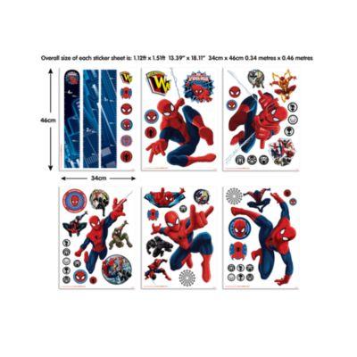 Spider-Man 61 Piece Room Decor Kit