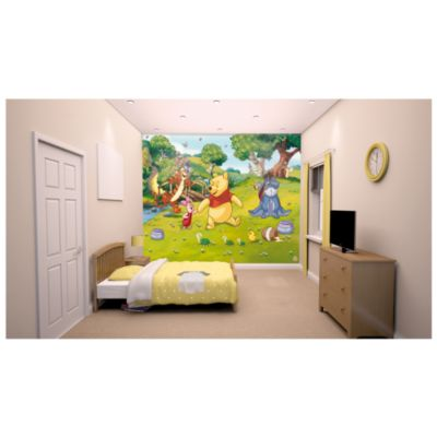 Winnie The Pooh 12 Panel Decorative Wall Mural