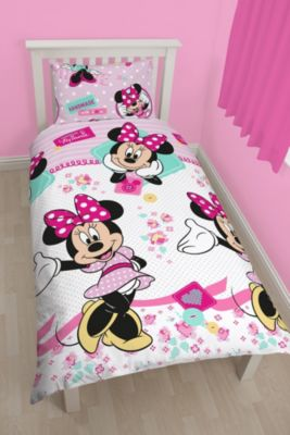 Minnie Mouse Single Duvet Cover Set