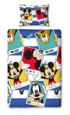 Mickey Mouse Single Duvet Cover Set