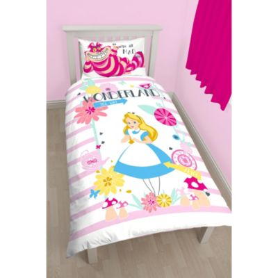 Alice in Wonderland Single Duvet Cover Set