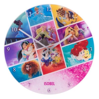 Disney Princess Analogue Wall Clock