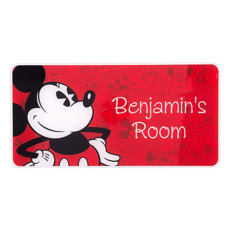 Mickey Mouse Personalised Room Sign