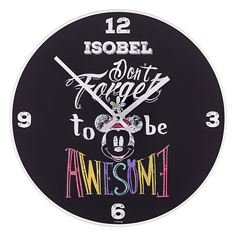 Minnie Mouse Analogue Wall Clock