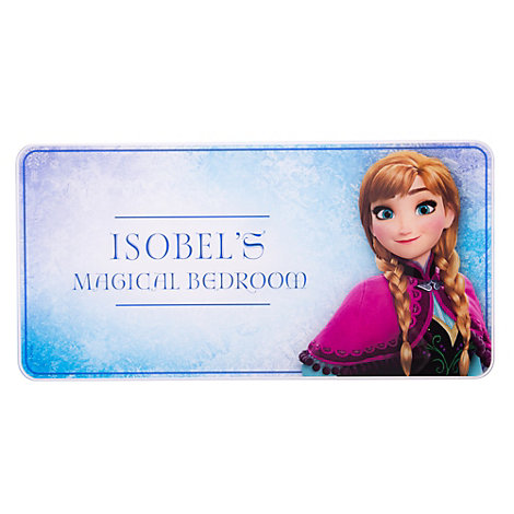 Anna Personalised Room Sign, Frozen
