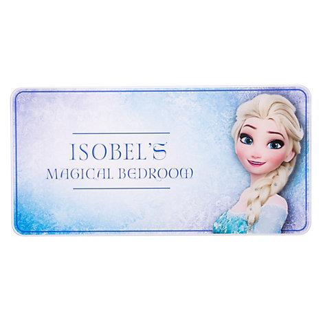 Elsa Personalised Room Sign, Frozen