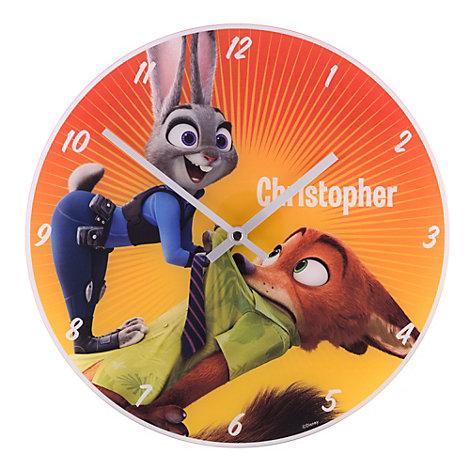 Zootropolis Analogue Wall Clock
