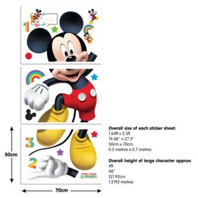 Mickey Mouse Room Stickers