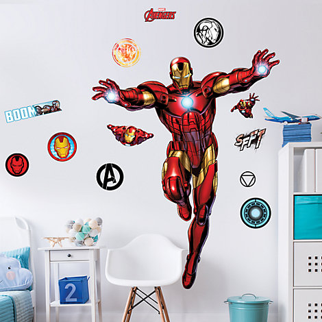 Iron Man Large Wall Sticker