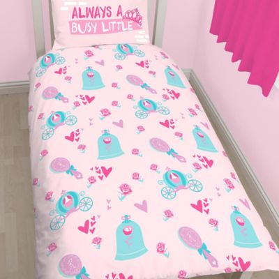 Disney Princess Single Duvet Cover Set