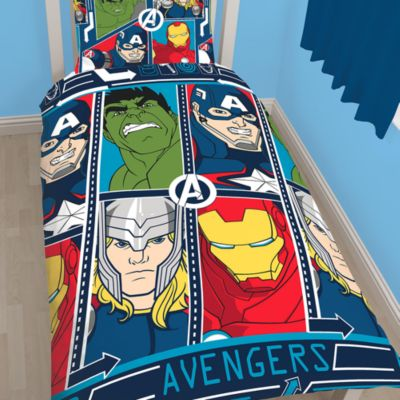 Marvel Comics Single Duvet Cover Set