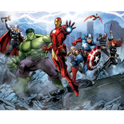 Avengers 12 Panel Decorative Wall Mural
