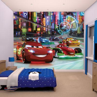 Disney Pixar Cars 12 Panel Decorative Wall Mural