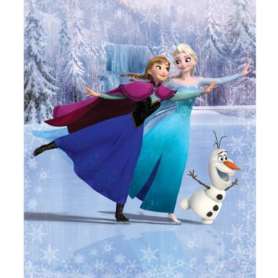 Frozen 12 Panel Decorative Wall Mural
