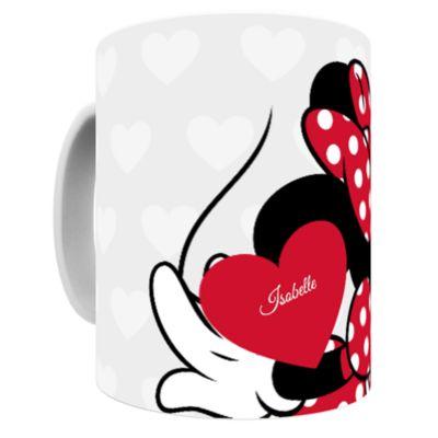 Minnie Mouse Ceramic Mug, Mickey and Minnie Love Range