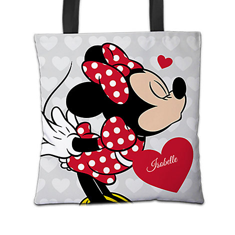 Minnie Mouse Tote Bag, Mickey and Minnie Love Range