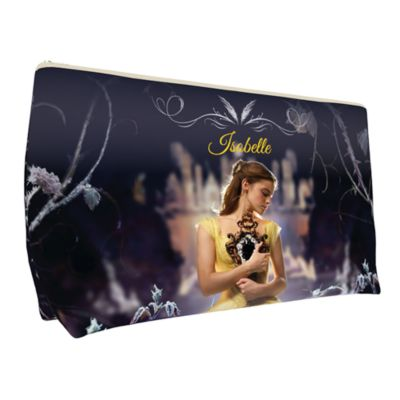 Belle Small Personalised Wash Bag, Beauty And The Beast
