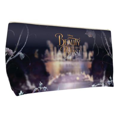 Belle Large Personalised Wash Bag, Beauty And The Beast