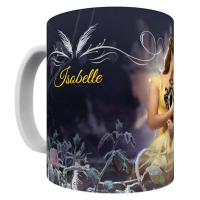 Belle Personalised Mug, Beauty And The Beast