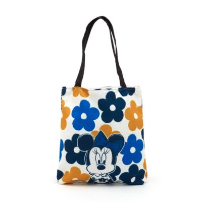 Minnie Mouse Personalised Floral Tote Bag