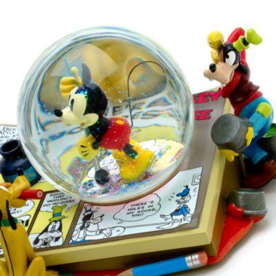 Bola de nieve musical Mickey Mouse y amigos