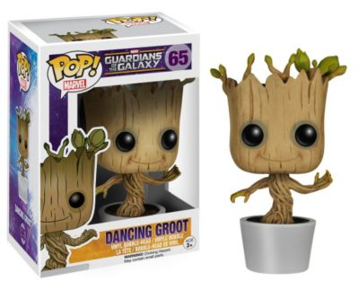 Personaggio Groot danzante serie Pop! di Funko