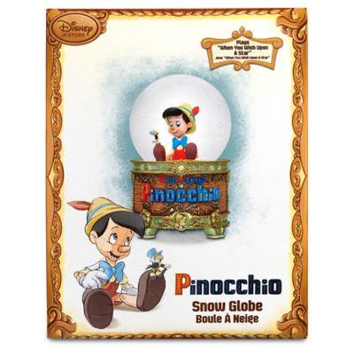 Pinocchio - leuchtende Schneekugel