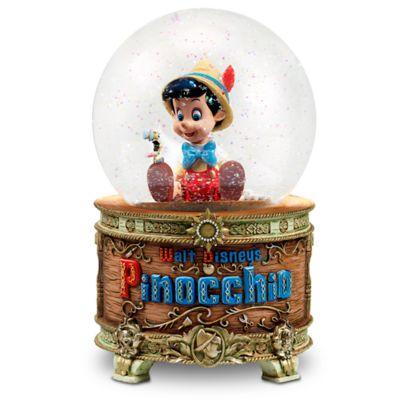 Boule à neige lumineuse et musicale Pinocchio