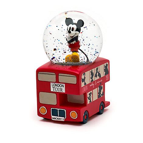 Mini palla di neve Topolino a Londra