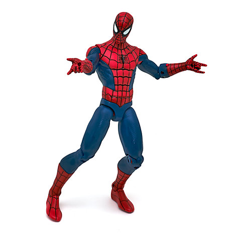 Spiderman talande actionfigur
