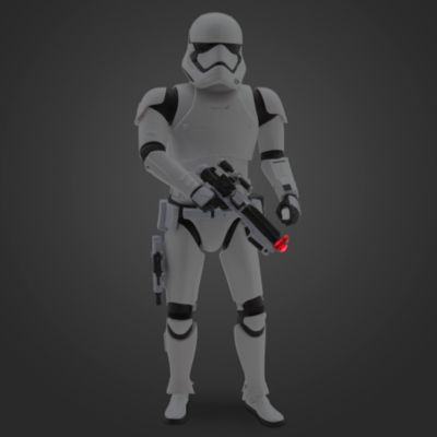 First Order Stormtrooper talande Star Wars-figur 35 cm
