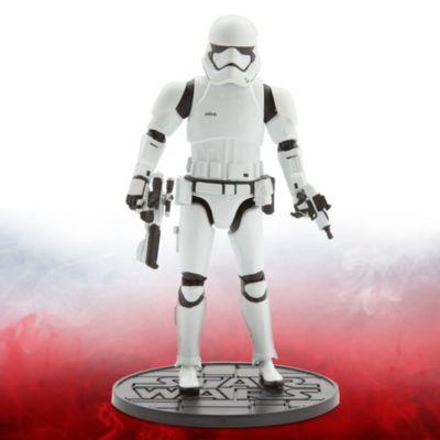 Figurine miniature de Stormtrooper du Premier Ordre de 16,5 cm, de la série Elite de Star Wars