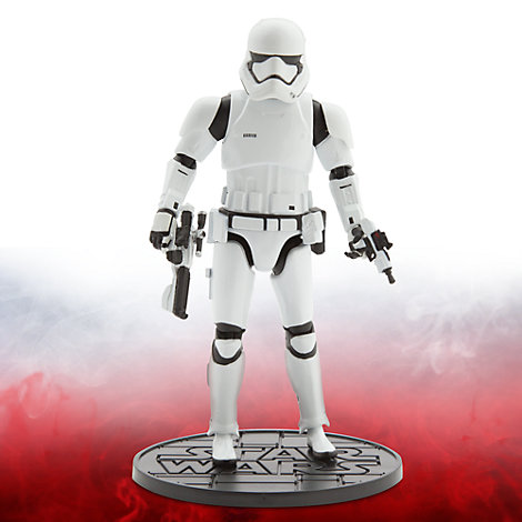 Star Wars 6.5'' Elite Series Die-Cast Figure, First Order Stormtrooper