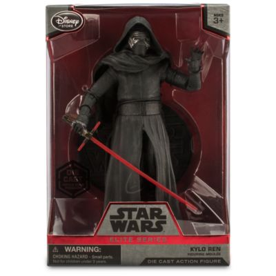 Figurine Kylo Ren miniature de 19 cm, de la série Elite de Star Wars
