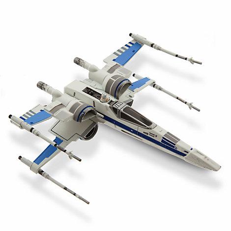 Modellino veicolo di Star Wars, caccia X-Wing della Resistenza