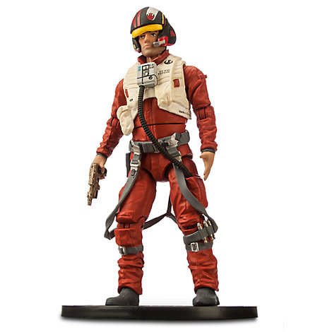Modellino personaggio di Star Wars 16,5 cm Elite Series, Poe Dameron