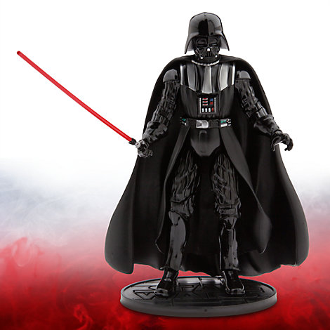 Figurine miniature Dark Vador de 16,5 cm, de la série Elite de Star Wars