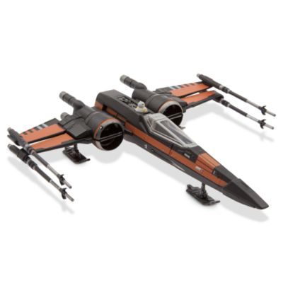 Star Wars Poes X-Wing-fighter diecast-fordon