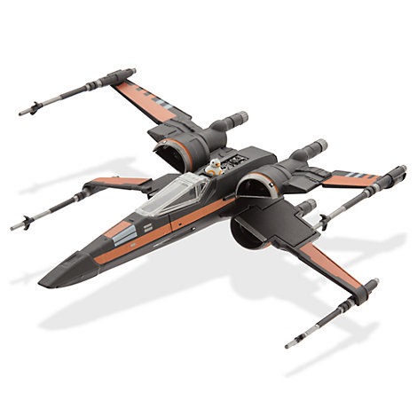 Chasseur X-Wing miniature de Poe, Star Wars
