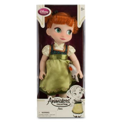 Anna From Frozen Animator Doll