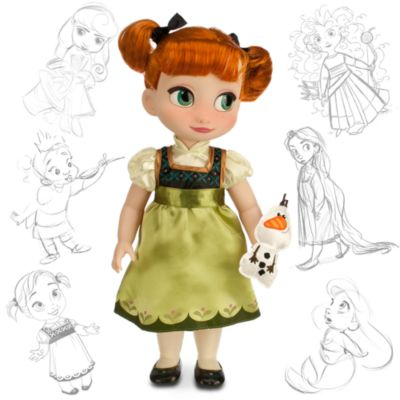 Bambola Anna di Frozen - Il Regno di Ghiaccio, collezione Animator Dolls