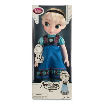 Elsa From Frozen Animator Doll