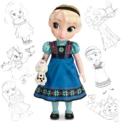 Elsa fra Frost Animator dukke